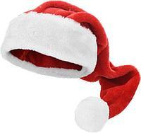 Новогодний колпак Санта 70 см плюш AAF200240 К