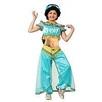 """Батик: Новогодний костюм """"Принцесса Жасмин"""", брюки, блузка р.140-72"""