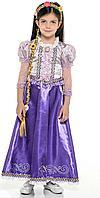 "Батик: Новогодний костюм ""Принцесса Рапунцель"", платье р.134-68"