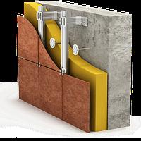 Система навесных вентилируемых фасадов из оцинковки - без посредников