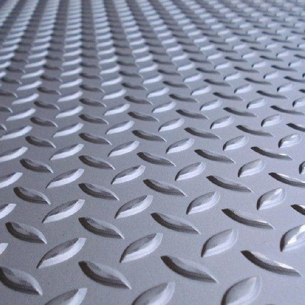 Листы рифленые (чечевица) нержавеющие Aisi 304 ASTM A240