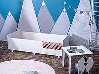 Кровать детская Tomix Star белый