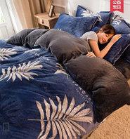 Плюшевое постельное белье, 2-спальное