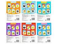 Книги «Карточки Домана для раннего развития», набор, 6 шт. по 20 стр., фото 4