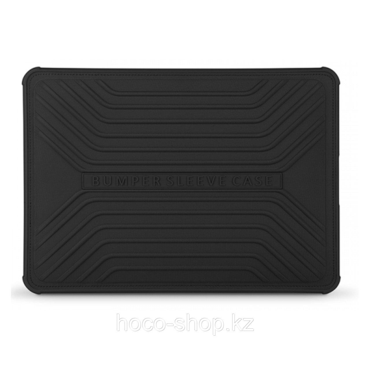 """Противоударный чехол-бампер для Macbook Pro 15.4 """" Wiwu Voyage, черный"""