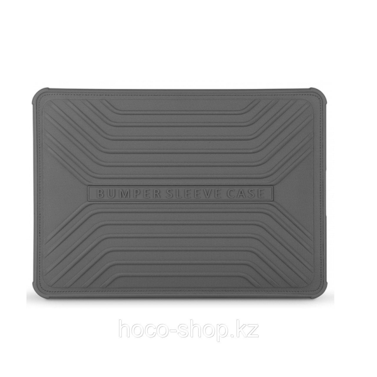 """Противоударный чехол-бампер для Macbook Pro 15.4 """" Wiwu Voyage, серый"""