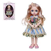 ИГРОЛЕНД Кукла шарнирная, коллекционная