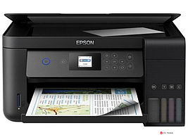 МФУ Epson L4160 C11CG23403, A4, принтер 5760x1440dpi, копир 1200x2400dpi, сканер 1200x2400dpi, USB