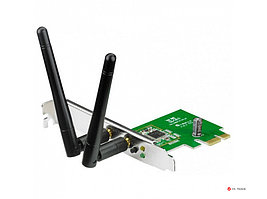 Беспроводной адаптер Wi-Fi ASUS PCE-N15 с интерфейсом PCI Express, 802.11 b/g/n, 300Mbps, 90-IG1U003M00-0PA0