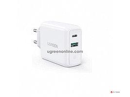 Зарядное устройство UGREEN CD170 36W USB-C Wall Charger EU (White), 60468