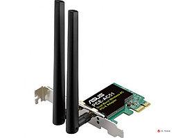 Двухдиапазонный беспроводной адаптер ASUS PCE-AC51 стандарта Wi-Fi 802.11ac, 90IG02S0-BO0010