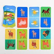 Развивающая игра «Домино. Обитатели фермы», 3+, фото 2