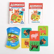 Развивающая игра «Домино. Обитатели фермы», 3+, фото 4