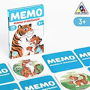 Развивающая игра «Мемо. Мамы и малыши», 3+, фото 5