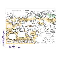 Многоразовая раскраска «Мир динозавров», фото 3