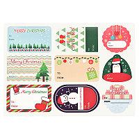 Стикеры для упаковки подарка, 9 шт