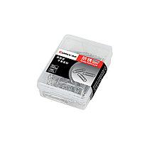 Скрепки металлические никелированные Comix B3506, 29 мм., (пласт. коробка 100 скрепок)