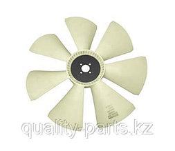 Вентилятор охлаждения (лопасть) на экскаватор-погрузчик Hidromek 102B (с двигателем Perkins)