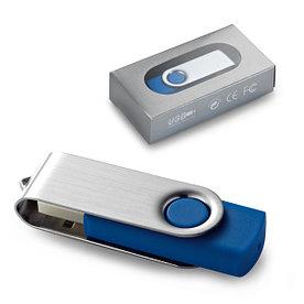 Флешка USB 16ГБ, CLAUDIUS, синяя