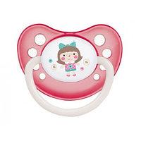 Пустышка Canpol babies Toys Латексная Анатомическая 6-18 мес 1шт 23/260 Pink