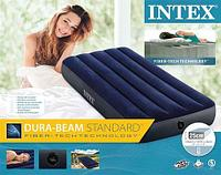 Матрас надувной INTEX Classic Downy Airbed (64756, 76х191х25 см)