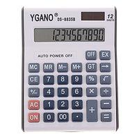 Калькулятор настольный, 12-разрядный, DS-8835B YGANO