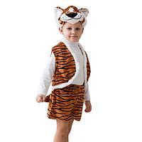 Карнавальный костюм «Тигр», 3-5 лет, рост 104-116 см