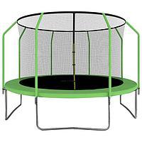 Батут ONLITOP, d=366 см, с сеткой высотой 173 см, цвет зелёный