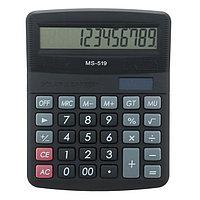 Калькулятор настольный, 12-разрядный, 519-MS, двойное питание