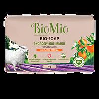 Туалетное мыло Bio-Soap апельсин, лаванда и мята BioMio, 90 гр