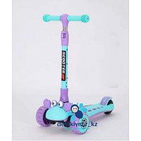 Детский трёхколёсный самокат (складной) Краб