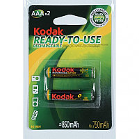 Аккумулятор Kodak_HR03/AAA (850 mAh) BL2 Pre-Charger, 1,2В. блистер, цена за 1 штуку
