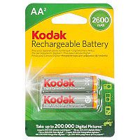 Аккумулятор Kodak_HR6/AA (2600 mAh) BL2 Pre-Charger, 1,2В. блистер, цена за  1 штуку