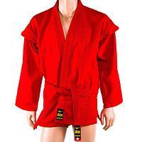 Кимоно для самбо Mizuno куртка+шорты красное