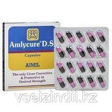 Амликар ДС (Amlycure DS), Aimil, 20 табл., гепатопротектор, холецистит, холангит, жировой гепатоз, дистрофия