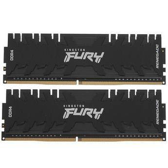 ОЗУ Kingston FURY Renegade RGB 16Gb(8Gb*2)/4800 DDR4 DIMM, CL19, KF448C19RBK2/16