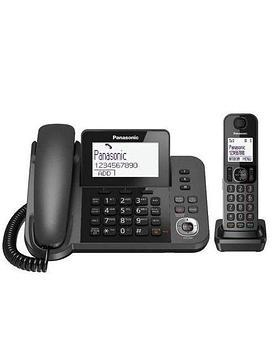 Радиотелефон PANASONIC KX-TGF320RUM Black