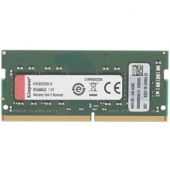 ОЗУ для ноутбука Kingston ValueRAM SODIMM 16Gb/3200 DDR4 DIMM, C22, KVR32S22S8/16