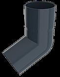 Труба водосточная d=90 мм, 3 м, RUPLAST серый графит, фото 3