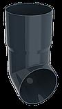 Труба водосточная d=90 мм, 3 м, RUPLAST серый графит, фото 5