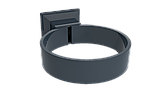 Колено 60град d=90 мм RUPLAST (Россия) серый графит, фото 3