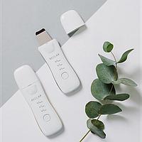 Аппарат для ультразвуковой чистки лица Reclar Galvanic Water Peeler Silver