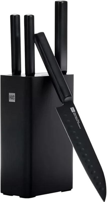 Набор ножей Xiaomi/HuoHou (HU0076) 5шт. с подставкой