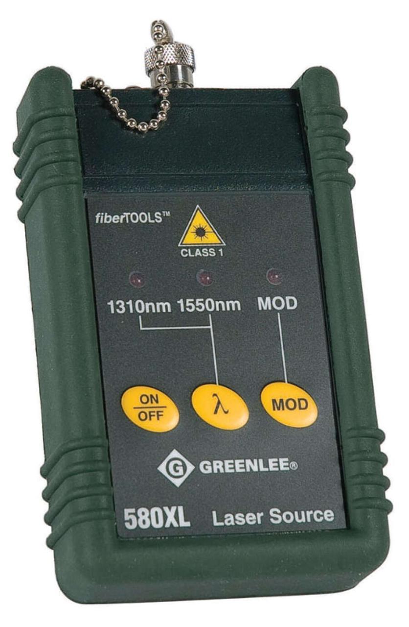 Greenlee 580XL-FC - источник оптического излучения (1310/1550нм) c фиксированным FC адаптером