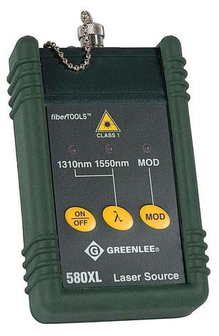 Greenlee 580XL-FC - источник оптического излучения (1310/1550нм) c фиксированным FC адаптером, фото 2