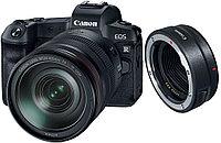 Цифровой фотоаппарат Canon EOS R Kit (RF 24-105mm f/4L IS USM) + Mount Adapter EF-EOS R (гарантия 2 года +