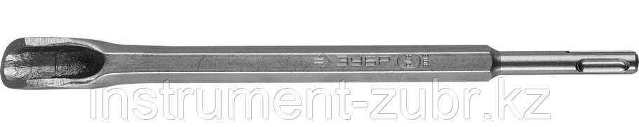 Зубило-штробер полукруглое 22 x 250 мм SDS-plus, ЗУБР, фото 2