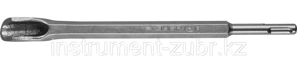 Зубило-штробер полукруглое 22 x 250 мм SDS-plus, ЗУБР