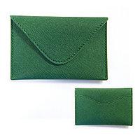 Визитница InTempo Envelope green 3281GR