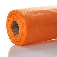 Простыни Ч 15гр 100шт 200*80см оранжевые в рулоне